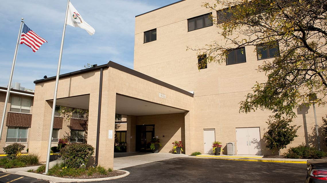 Outside view of our behavioral health facility in Forest Park, Illinois | RiverEdgeHospital.com